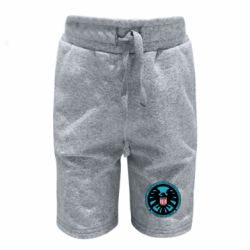Детские шорты Логотип Щита