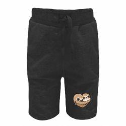 Дитячі шорти Love sloths