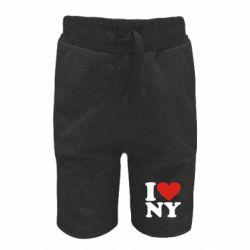 Дитячі шорти Люблю Нью Йорк