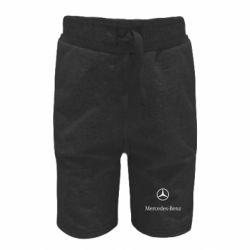 Дитячі шорти Mercedes Benz logo