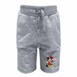 Детские шорты Микки Джентельмен