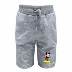 Дитячі шорти Міккі Маус соромиться