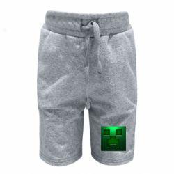 Детские шорты Minecraft Face