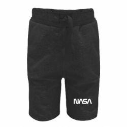 Дитячі шорти NASA logo