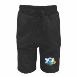 Детские шорты New Orleans Hornets Logo - FatLine