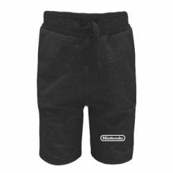 Дитячі шорти Nintendo logo
