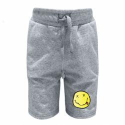 Дитячі шорти Nirvana Logo 3D