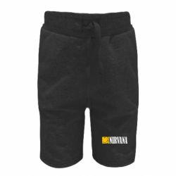 Детские шорты Nirvana смайл
