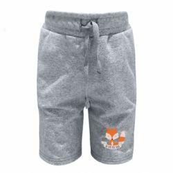 Детские шорты Of for fox sake - FatLine