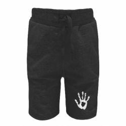 Детские шорты Отпечаток руки