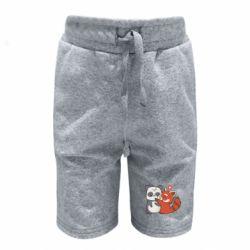 Дитячі шорти Panda and fire panda