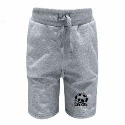 Детские шорты Панда в наушниках