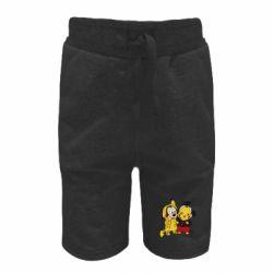 Детские шорты Пикачу и Микки Маус