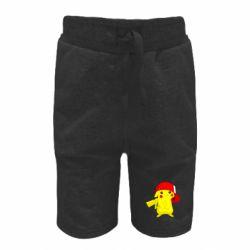 Детские шорты Pikachu in a cap