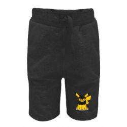 Дитячі шорти Pikachu in balaclava