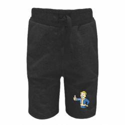 Детские шорты Pip boy fallout