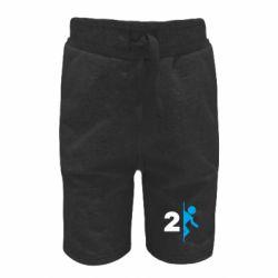 Детские шорты Portal 2 logo
