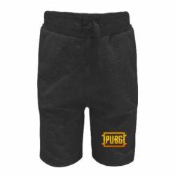 Детские шорты PUBG and cracks