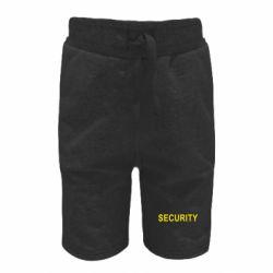 Детские шорты Security