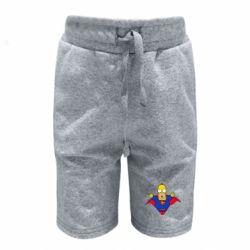 Детские шорты Simpson superman
