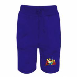 Детские шорты Simpsons At Home