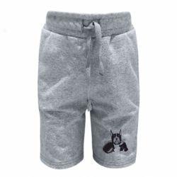 Дитячі шорти Собака в боксерських рукавичках