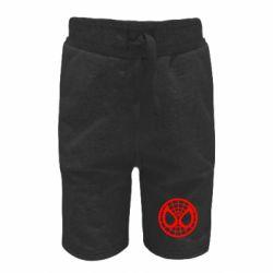 Детские шорты Спайдермен лого