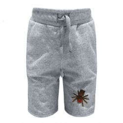 Детские шорты Spider from Minecraft