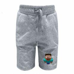 Детские шорты Steve from Minecraft