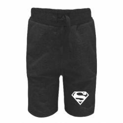 Детские шорты Superman одноцветный