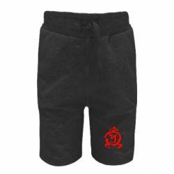 Детские шорты Сверхъестественное логотип - FatLine