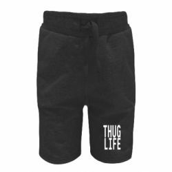 Детские шорты thug life