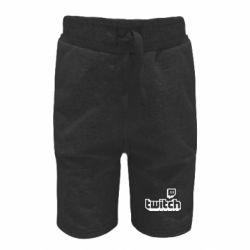Дитячі шорти Twitch logotip