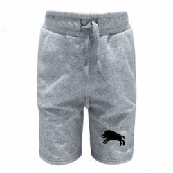 Дитячі шорти Wild boar