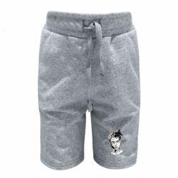 Детские шорты XXXTentacion Monochrome Art