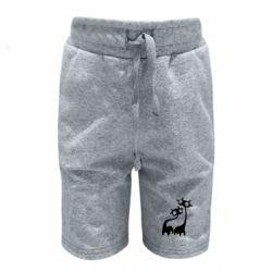Детские шорты Жирафы