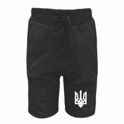Детские шорты Жирный Герб Украины - FatLine