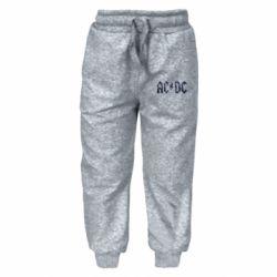 Детские штаны AC/DC Logo