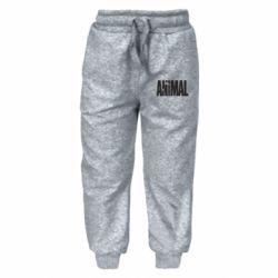 Детские штаны Animal Logo