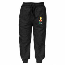 Детские штаны Bart Simpson - FatLine