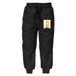 Детские штаны Барт в тюряге