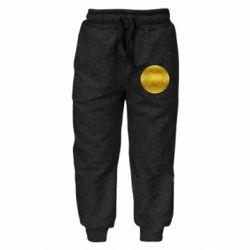 Дитячі штани Bitcoin coin