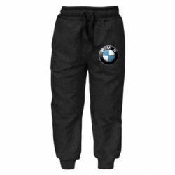 Детские штаны BMW Logo 3D