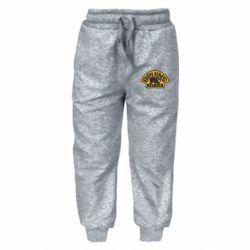 Детские штаны Boston Bruins - FatLine