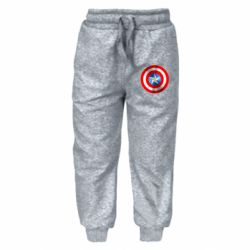 Детские штаны Captain America 3D Shield