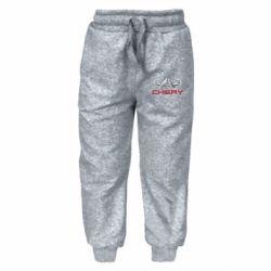 Детские штаны Chery Logo - FatLine