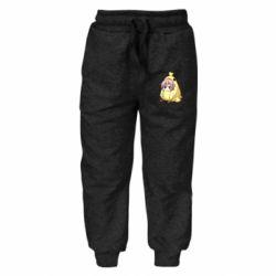 Дитячі штани Дівчинка з курчам