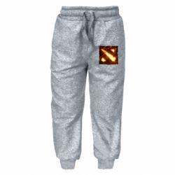 Детские штаны Dota 2 Fire Logo