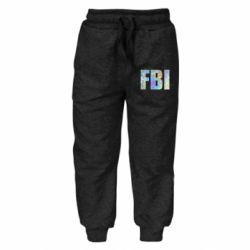 Дитячі штани FBI голограма