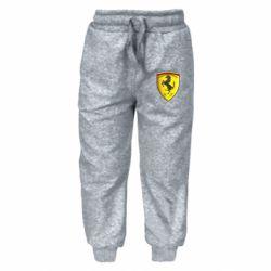 Детские штаны Ferrari 3D Logo